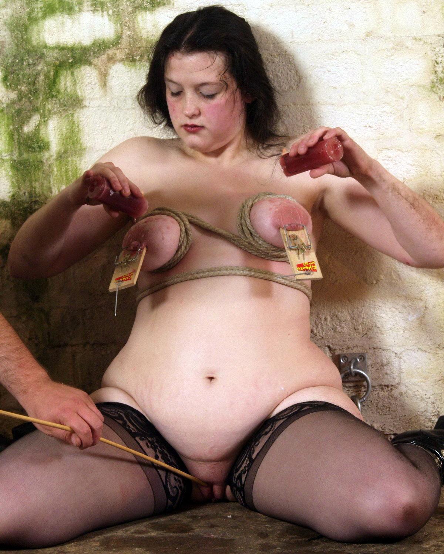 Chubby slave girl