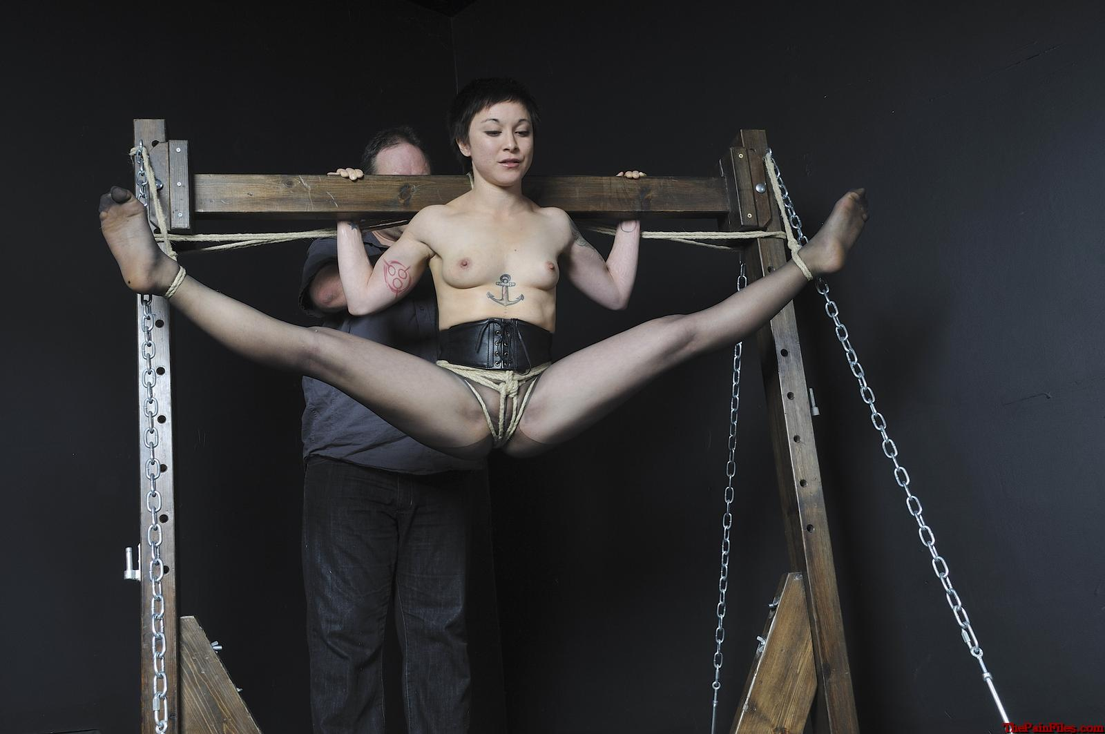 Love fuck girls full suspension bondage this how