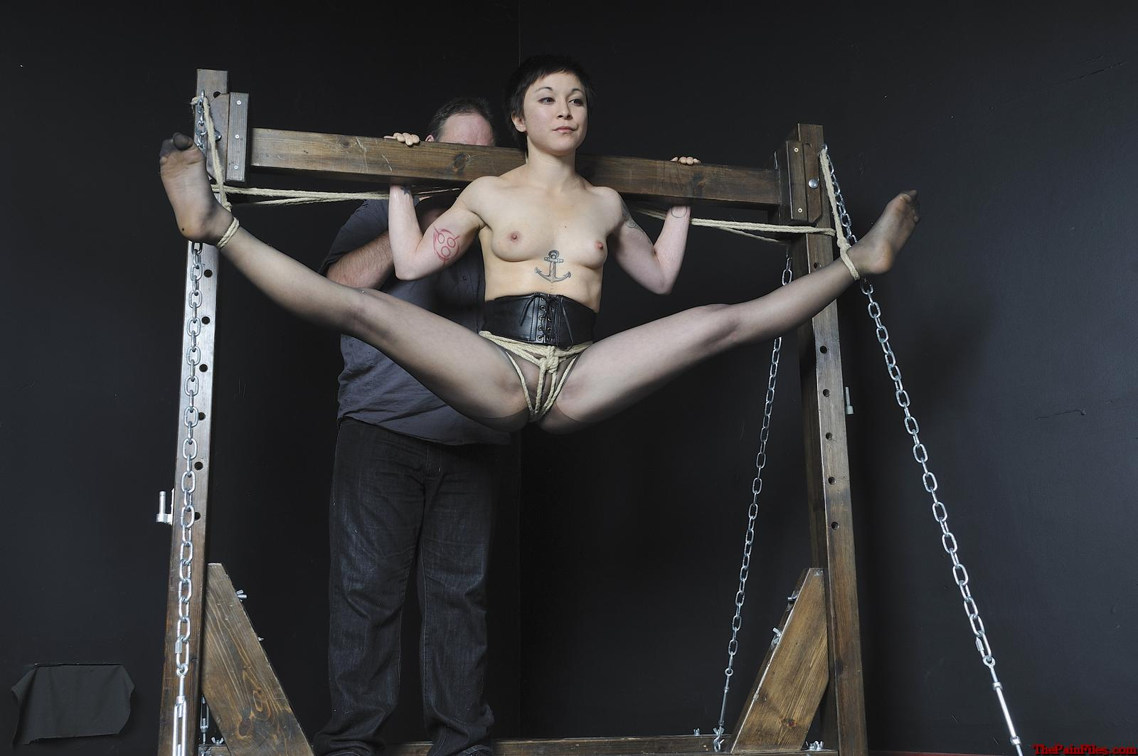 Female Suspension Bondage